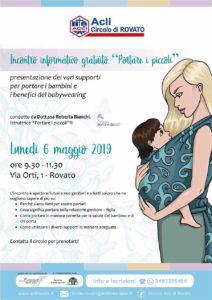 Portare i piccoli - Incontri informativi gratuiti @ sede Acli Rovato