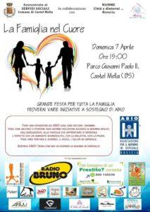La famiglia nel cuore @ Parco Giovanni Paolo II Castelmella