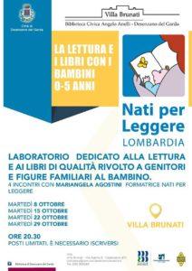 La lettura e i libri di qualità @ Villa Brunati Desenzano