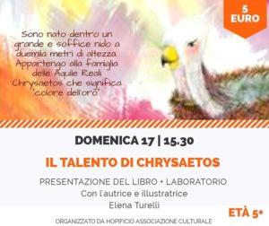 Il talento di Chrysaetos @ Hopificio Spazio Creativo
