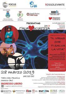 Il virus che ti salva la vita @ teatro S.Faustino di Sarezzo