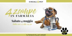 4 zampe in farmacia @ Farmacia VIncoli