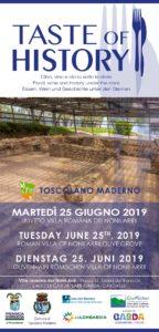 Taste of History @ Uliveto Villa Romana dei Nonii Arrii | Toscolano Maderno | Lombardia | Italia