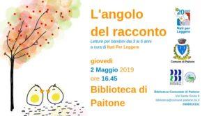 L'angolo del racconto a Paitone @ Biblioteca di Paitone | Paitone | Lombardia | Italia