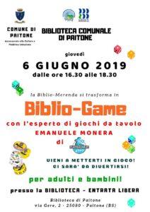 Biblio-game Paitone @ Biblioteca di Paitone | Paitone | Lombardia | Italia