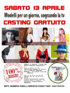 Casting @ Bambini Ribelli
