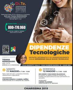 Dipendenze tecnologiche @ Villa Mazzotti Chiari
