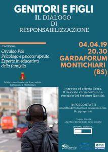 Genitori e figli - un dialogo di resposabilizzazione @ Gardaforum Montichiari