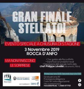 Gran finale stellato alla Rocca d'Anfo @ Rocca d'Anfo | Anfo | Lombardia | Italia
