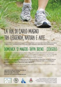 La via di Carlo Magno - da Breno a Cedegolo @ ritrovo Piazza Sant'Antonio a Breno