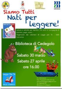 Nati per leggere a Cedegolo @ Biblioteca di Cedegolo