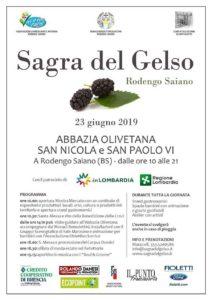 Sagra del gelso @ Abbazia Olivetana di San Nicola | Rodengo-Saiano | Lombardia | Italia
