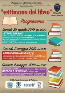 Settimana del libro a Paitone @ Biblioteca di Paitone | Paitone | Lombardia | Italia