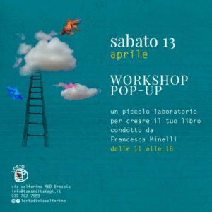 Workshop di pop up @  L'Orto di Via Solferino