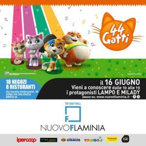 Incontra i personaggi dei cartoni: 44 gatti @ Nuovo Flaminia zona ex magazzini generali Brescia