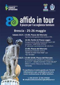 8 piazze per l'affido @ Piazza del Mercato a Brescia