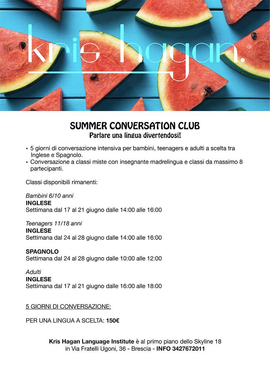 Summer Conversation Club