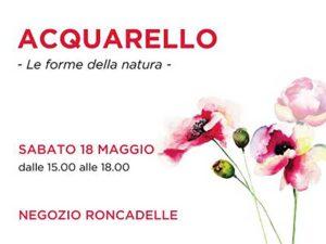 Corso di acquerello: le forme della natura @ Office Store Giustacchini di Roncadelle | Roncadelle | Lombardia | Italia
