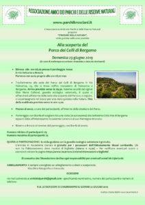 Alla scoperta del Parco dei Colli di Bergamo @ ritrovo parcheggio Iveco