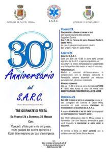 Anniversario S.A.R.C. @ sede operativa SARC