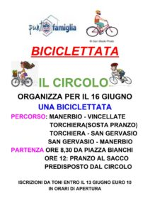 Biciclettata nei dintorni di Manerbio @ partenza da circolo Acli Manerbio