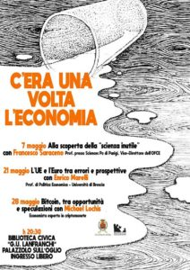 C'era una volta l'economia @ Sala Conferenze della Biblioteca Civica di Palazzolo