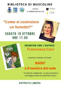 Come si costruisce un fumetto? @ Biblioteca Muscoline | Chiesa | Lombardia | Italia