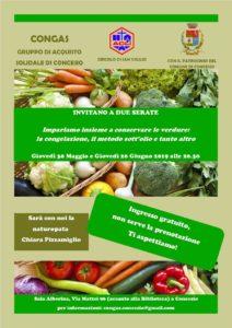 Impariamo a conservare le verdure @ Sala Albertina (vicino biblioteca)