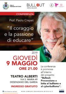Il coraggio e la passione di educare @ Teatro Alberti Desenzano