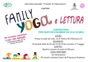 Family yoga e letture - Villanuova @ asilo comunale Villanuova