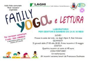 Family yoga e letture - Roè @ asilo comunale Roò Volciano
