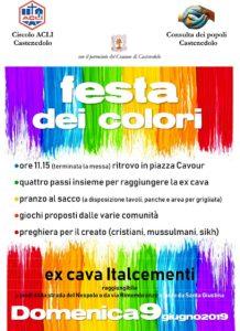Festa dei colori @ ritrovo in piazza Cavour Castenedolo