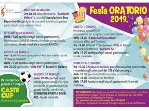 Festa oratorio Castenedolo @ Oratorio Pio x Castenedolo