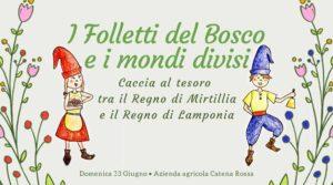 I Folletti del Bosco e i Mondi Divisi @ Catena Rossa Sarezzo