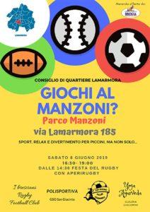 Giochiamo al Manzoni? @ Parco Manzoni Brescia