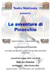 Le avventure di Pinocchio @ Sala Ex cinema di via Manzoni.