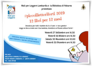 Piccoli lettori forti a Vobarno @ Biblioteca Vobarno | Vobarno | Lombardia | Italia