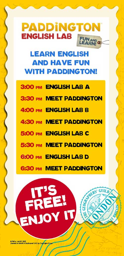 paddington-english-lab-nuovo-flaminia-programma