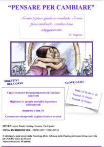 Pensare per cambiare @ centro Pranic Healing | Case Nuove | Lombardia | Italia