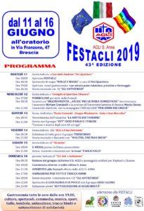 Fest'Acli Sant'Anna @ Oratorio San'Anna