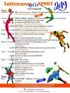 Settimana dello sport a Ospitaletto @ Ospitaletto