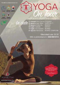 Yoga on tour @ vedi testo
