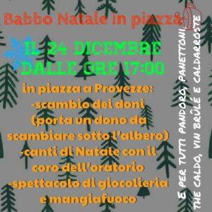 Babbo Natale in piazza a Provezze @ Provezze   Provezze   Lombardia   Italia