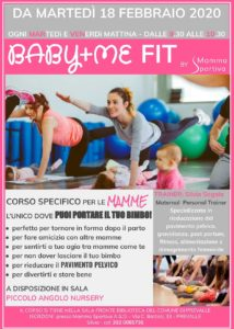 Baby+me fit a Prevalle @ Mamma Sportiva