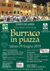 Burraco in piazza @ centro storico Lonato del Garda