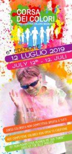Color run - corsa dei colori a Toscolano @ Spiaggia Riva Granda