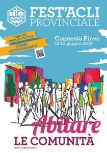 """Abitare le comunità - Fest'Acli provinciale @ Oratorio """"Paolo VI"""" Concesio Pieve"""