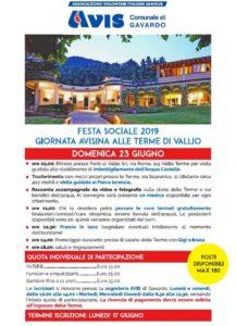 Festa Avis Vallio Terme @ Terme di Vallio