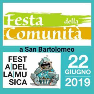 Festa della Comunità-Festa della Musica San Bartolomeo @ Oratorio di San Bartolomeo Brescia