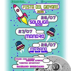 Festa del Giovane a Bassano Bresciano @ centro sportivo Bassano Bresciano | Comezzano-Cizzago | Lombardia | Italia